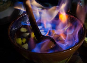 Galician queimada